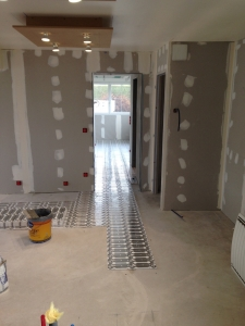 plancher chauffant électrique de rénovation