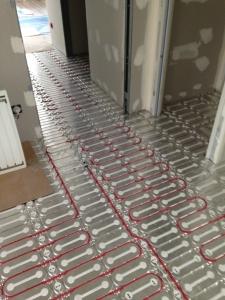 plancher chauffant électrique en rénovation